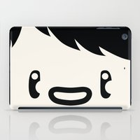no face iPad Cases featuring Face by OFGMS