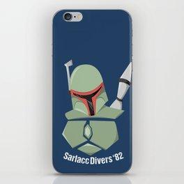 Boba Fett Sarlacc Divers of '82 iPhone Skin