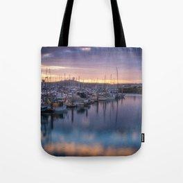 Nature's Hues Sunset at Half Moon Bay Tote Bag
