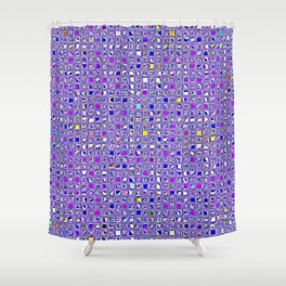 Re-Created  Granada 6 by Robert S. Lee Shower Curtain