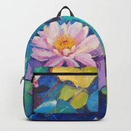 Water flowers Backpack