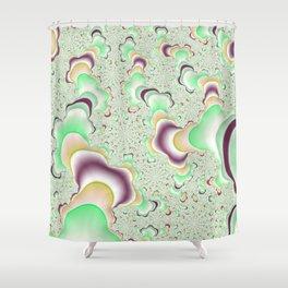 Eccentric Fractal Shower Curtain