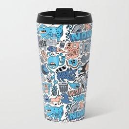 Gross Pattern Metal Travel Mug