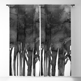 Tree Impressions No.1I by Kathy Morton Stanion Blackout Curtain