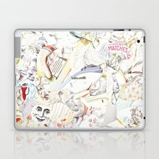 White Laptop & iPad Skin