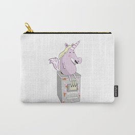 Icecream Unicorn Carry-All Pouch