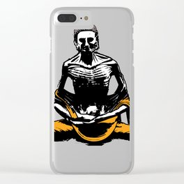Starving Buddha Clear iPhone Case