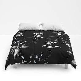 Plants & Paper clips Photogram Comforters
