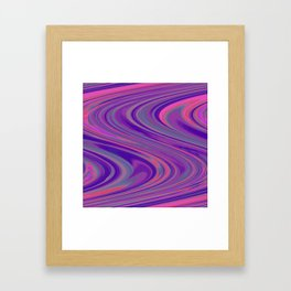 Psychedelica Chroma XXIV Framed Art Print