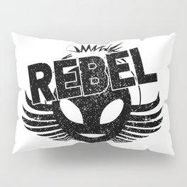 Rebel alien Pillow Sham