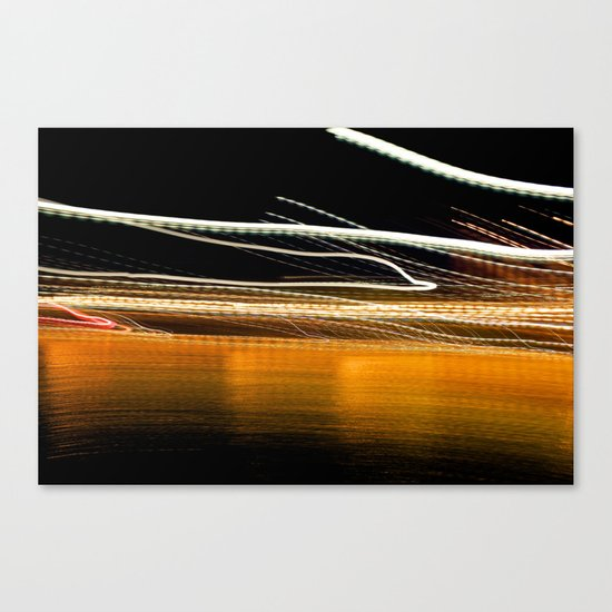 THEY COME AT NIGHT Canvas Print
