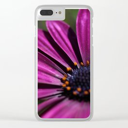 pure purble Clear iPhone Case
