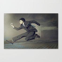 Running Man Canvas Print