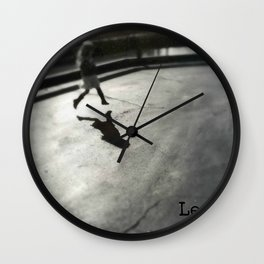 Leap before you look Wall Clock