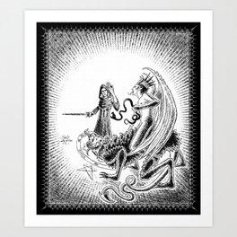 The Magic Ring Art Print