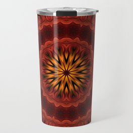 Mandala of Surya the Sun God  Travel Mug