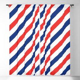 Barber Stripes Blackout Curtain