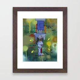 Over Charge Framed Art Print