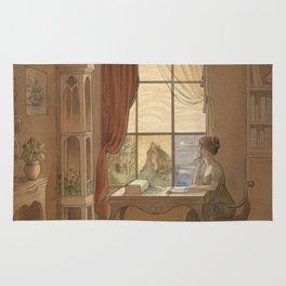 Jane Austen, Mansfield Park - the East Room Rug