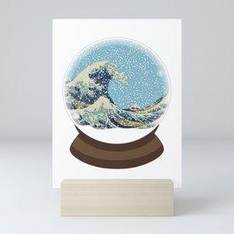 The Great Wave Snow Globe Mini Art Print