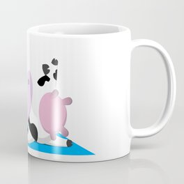 TeeTee - The Aerobic Cow #03 Coffee Mug
