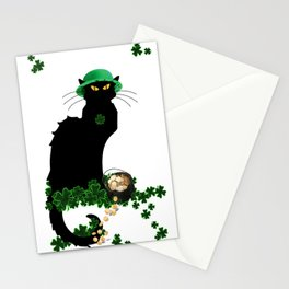 Le Chat Noir - St Patrick's Day Stationery Cards