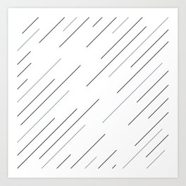 Clear start Art Print