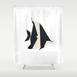 Origami Moorish Idol Shower Curtain