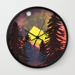 Lost in the Color... Wall Clock