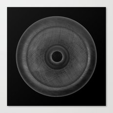 Demi-Stock Black Piece 3 Canvas Print