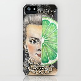 Limeade Marie Antoinette iPhone Case