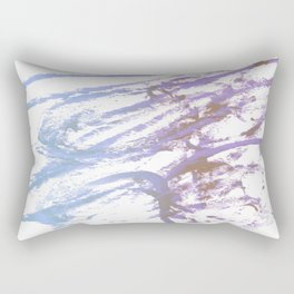 blue ecstacy Rectangular Pillow