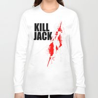 borderlands Long Sleeve T-shirts featuring KILL JACK - ASSASSIN by Resistance