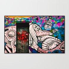 Street Art - Williamsburg, Brooklyn, NYC Canvas Print