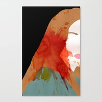 sansa Canvas Prints featuring Sansa by Coleen B