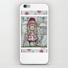 Happy Heart iPhone & iPod Skin