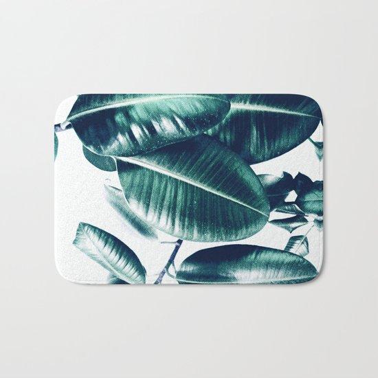 Ficus Elastica #1 Bath Mat