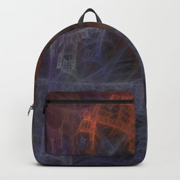 Web Of Stairs Black Backpack