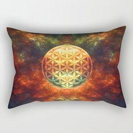 Centered Reality (Flower Of Life)  Rectangular Pillow