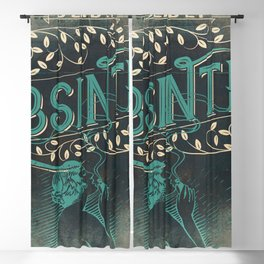 Deadly Absinthe Blackout Curtain