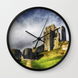 The Old Castle Wall Clock