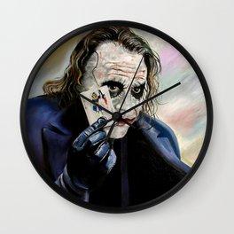 the Joker hahaha Wall Clock