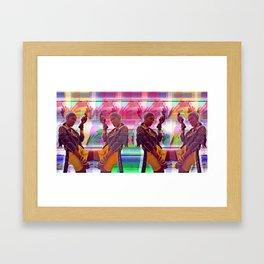 4TH WORLD Framed Art Print