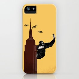 King Kong Love to Selfie iPhone Case