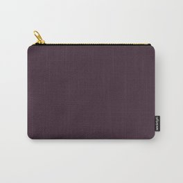 Light and Dreamy ~ Mulberry Coordinating Solid Carry-All Pouch