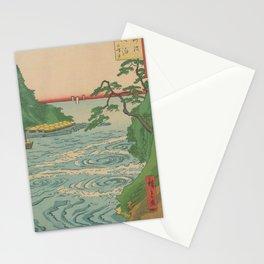 Sea. Ukiyoe Landscape Stationery Cards