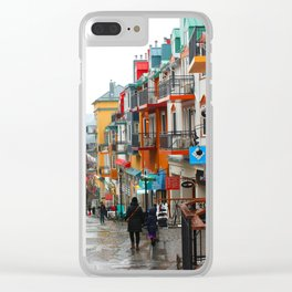 Mont Tremblant Clear iPhone Case