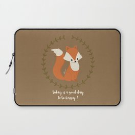 Renard roux // Red fox Laptop Sleeve