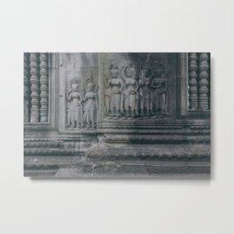 Apsara Dancers Metal Print