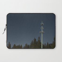 Transmissions in the dead of the night Laptop Sleeve